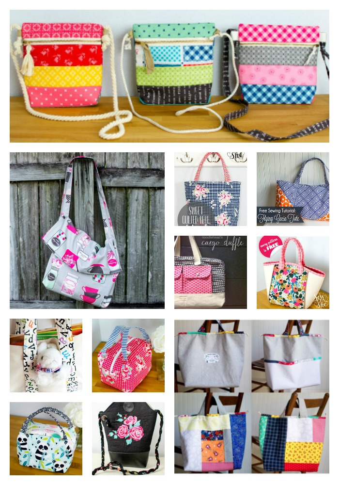 The Ultimate List of Fast and Easy Tote Bags to Sew (with free ...