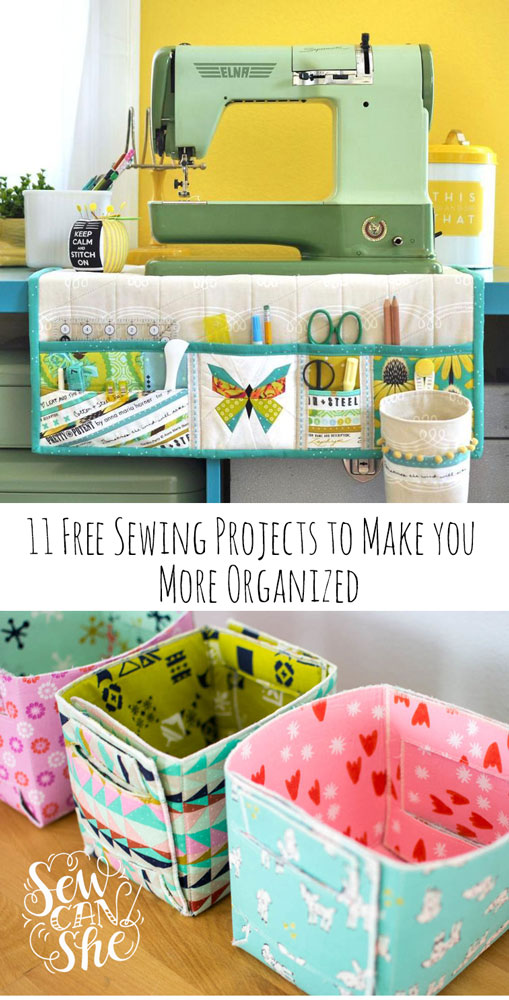 sewing projects to make you more organized
