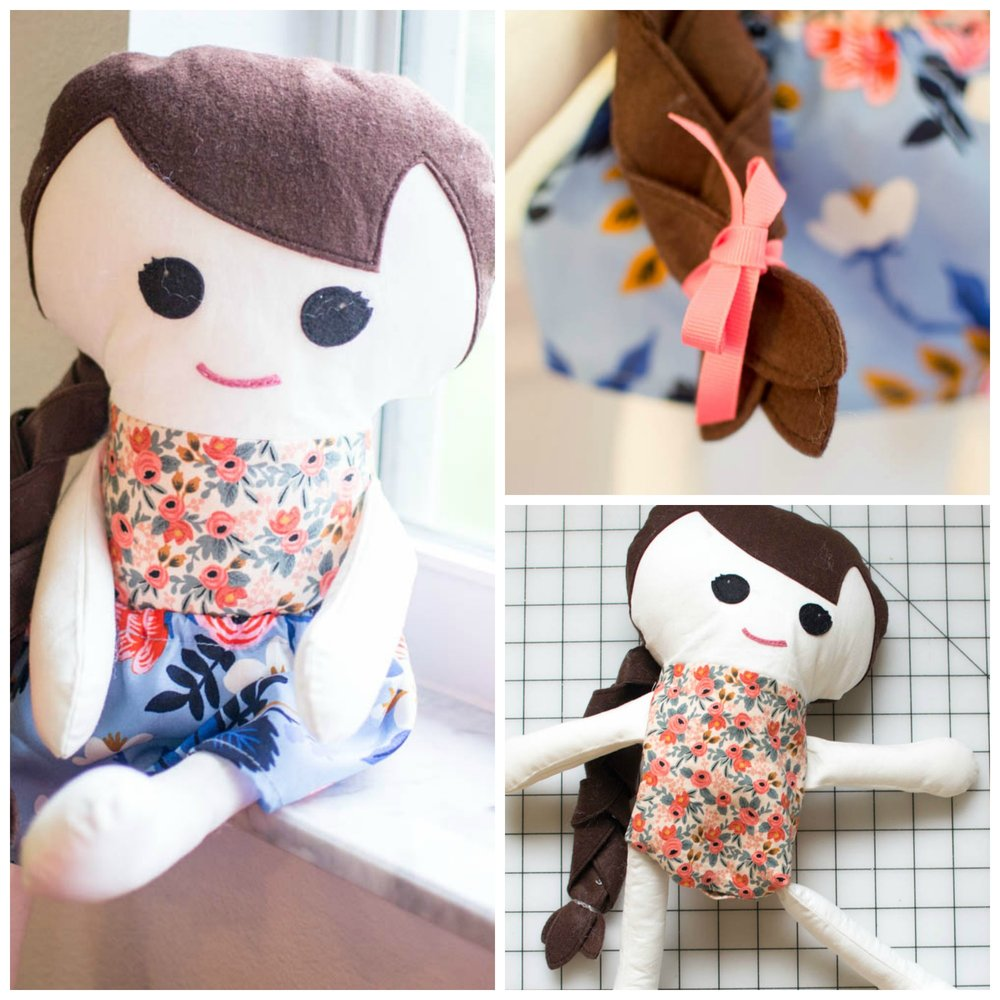 Free Fabric Doll Pattern