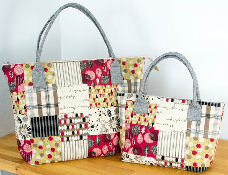 Tote Bag And Purse Sewing Tutorials Sewcanshe Free