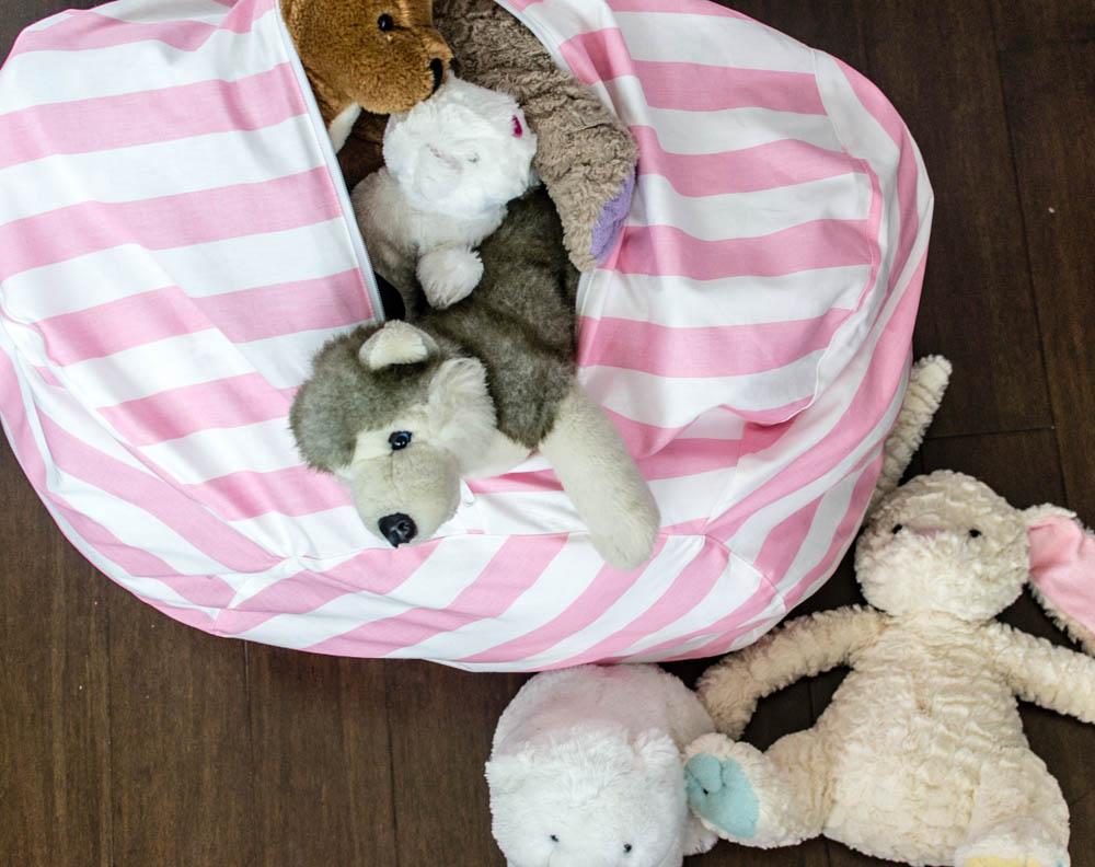 Stuffed Animal Bean Bag Chair