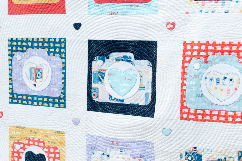 What s to love about the built in applique on the creative