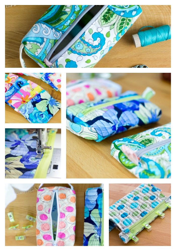 The Pillbox Pouch {free sewing pattern for a cute zipper pouch ...