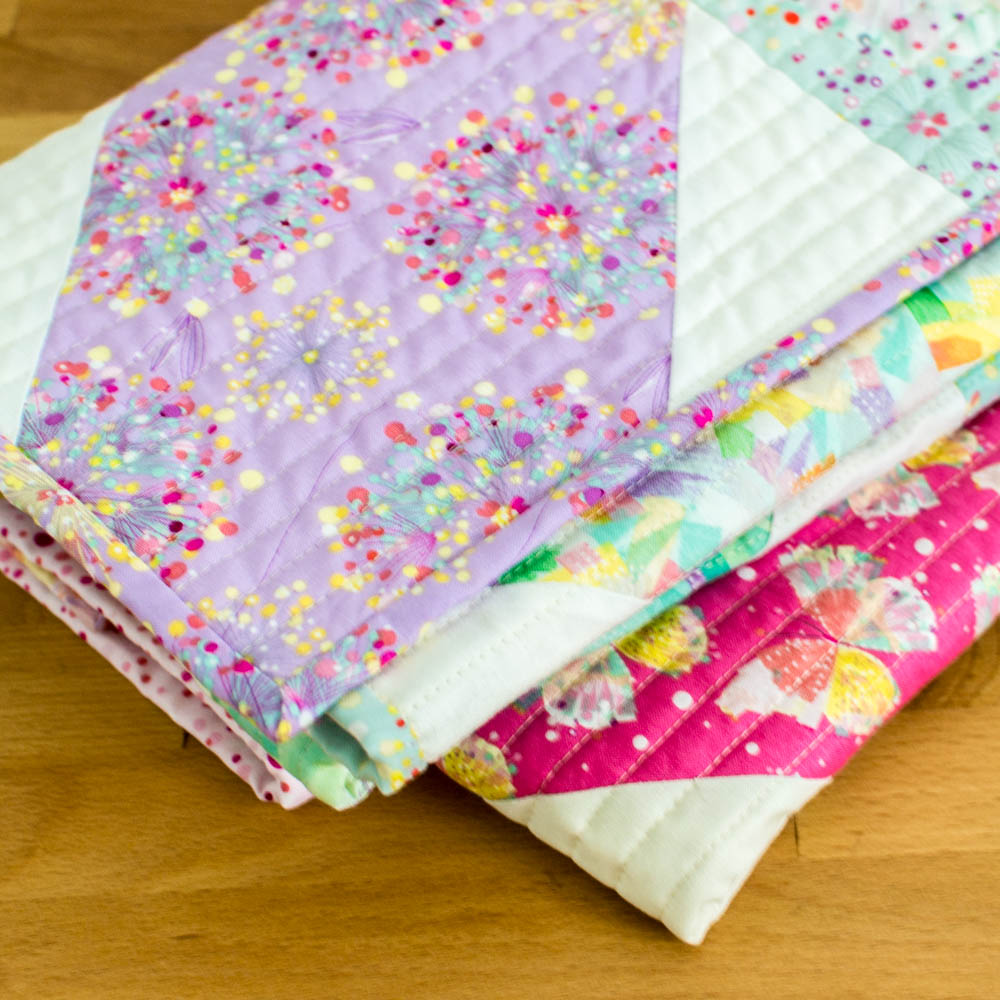 This is my free  Fat quarter Fancy Quilt Pattern .