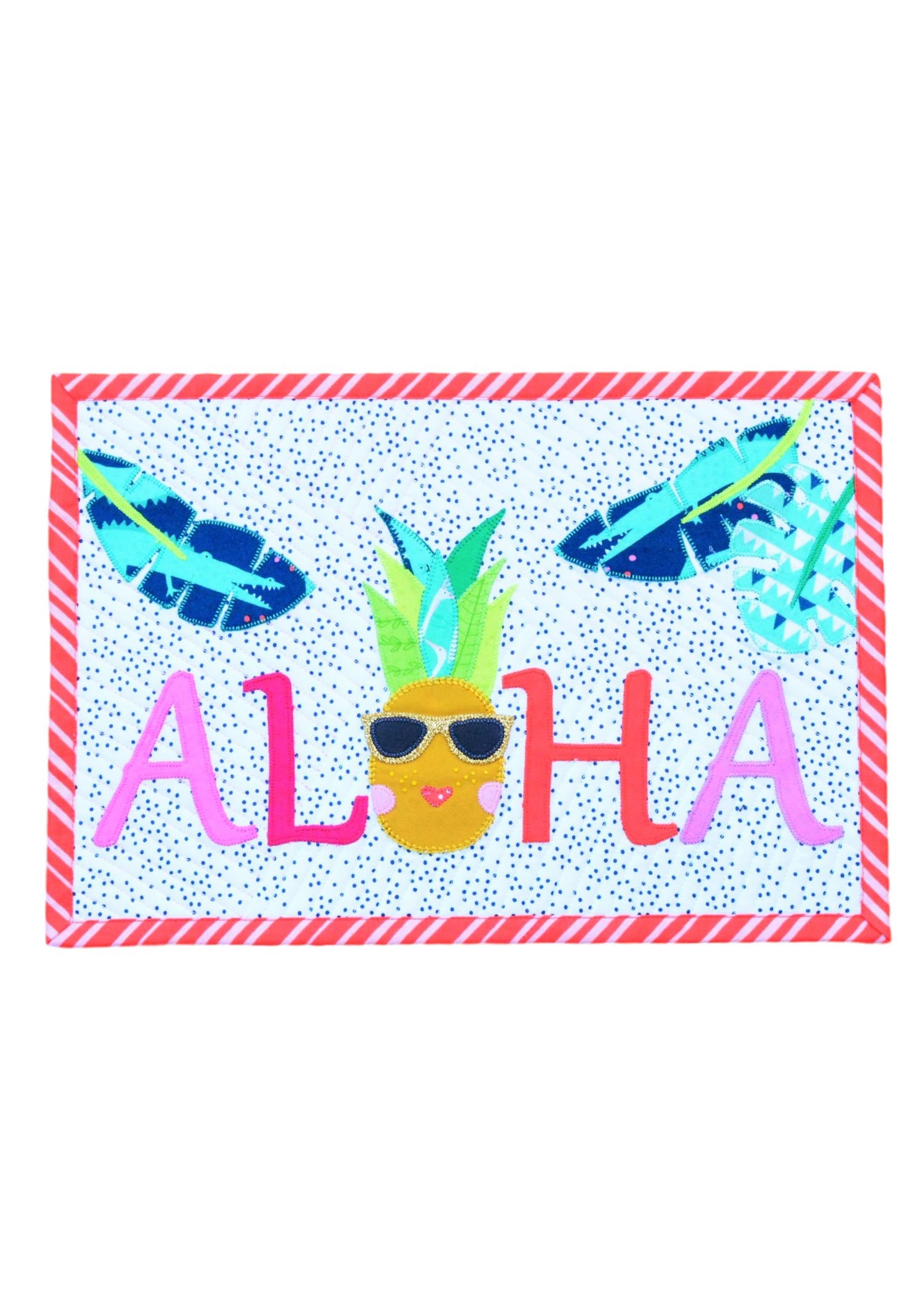 De Aloha Quilt.Monthly Mini Quilt For March Aloha Plus A Giveaway Sewcanshe