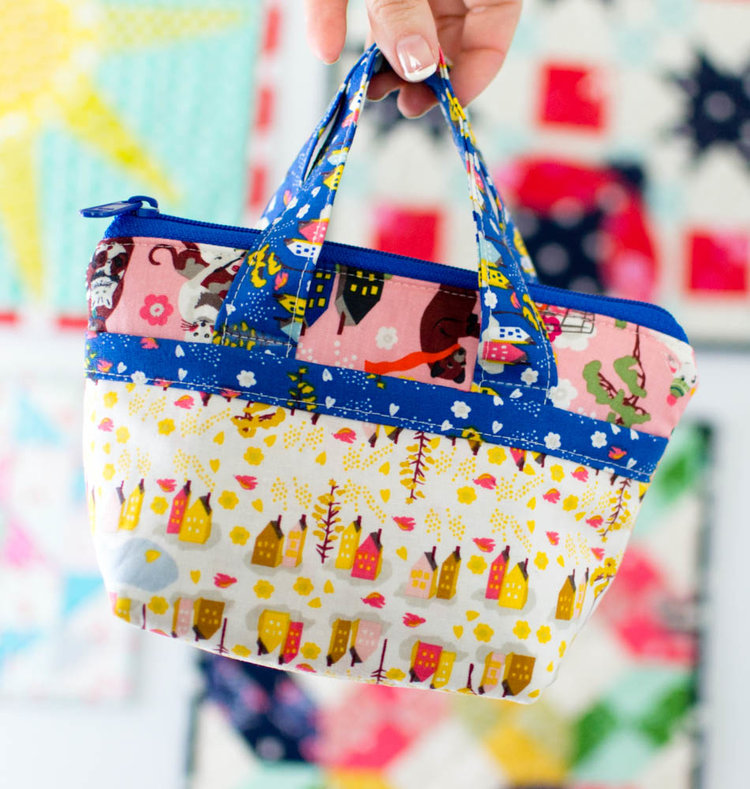 tiny tote bag pattern