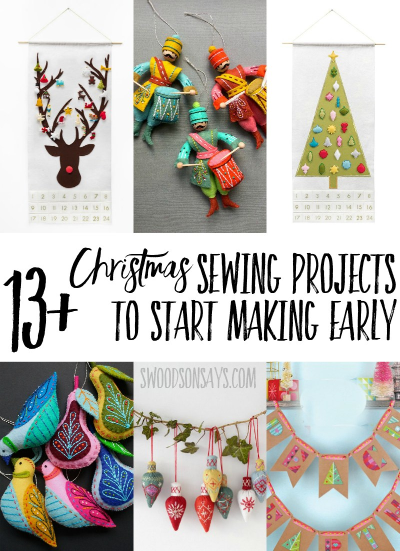 friday spotlight stephanies 13 christmas sewing projects to start early sewcanshe free sewing patterns for beginners