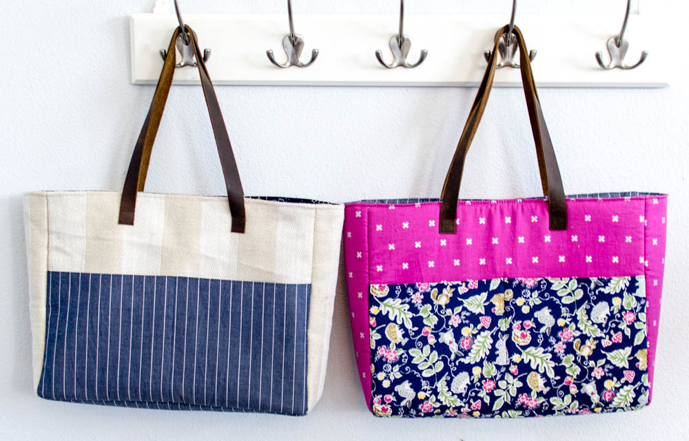 Strappy Bag With Pockets Easy Diy Sewing Tutorial Sewcanshe
