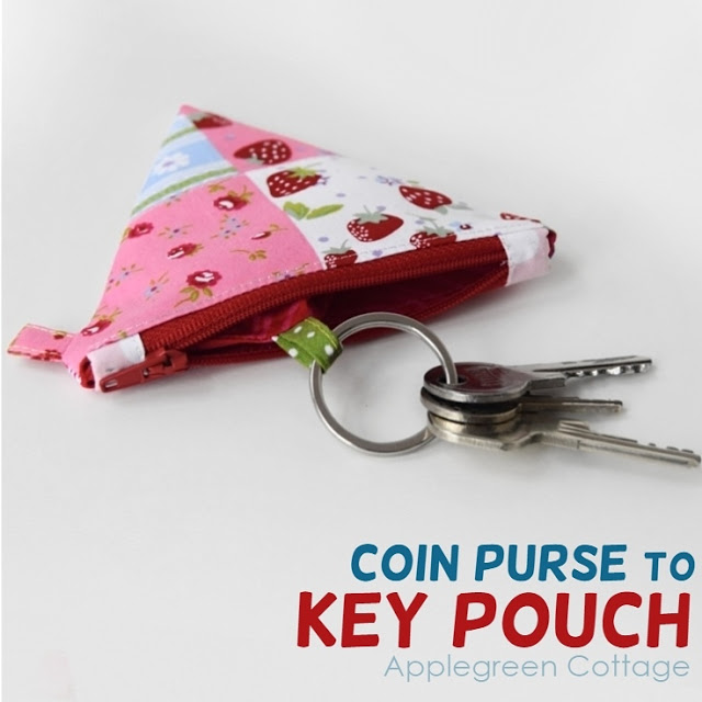 Friday Spotlight: Damjana\'s Adorable Key Pouch/Coin Purse ...