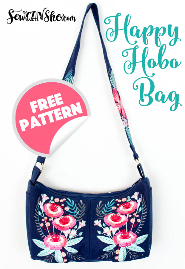 de9280c1dd6 The Happy Hobo Bag - free sewing pattern   tutorial! — SewCanShe ...