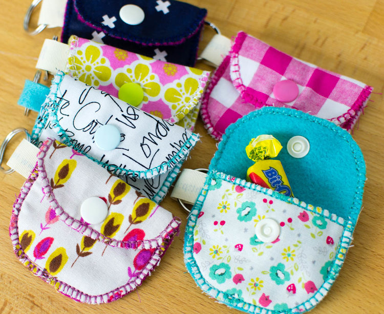 Easy to sew Bit O' Kindness pouches!