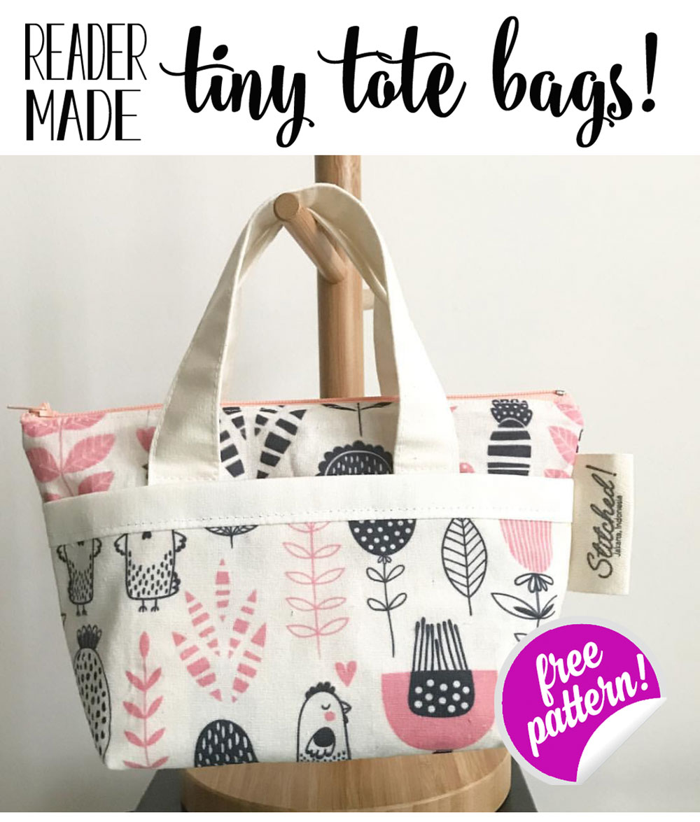 Show Off Saturday... adorable reader-made Tiny Tote Bags! (from my ...