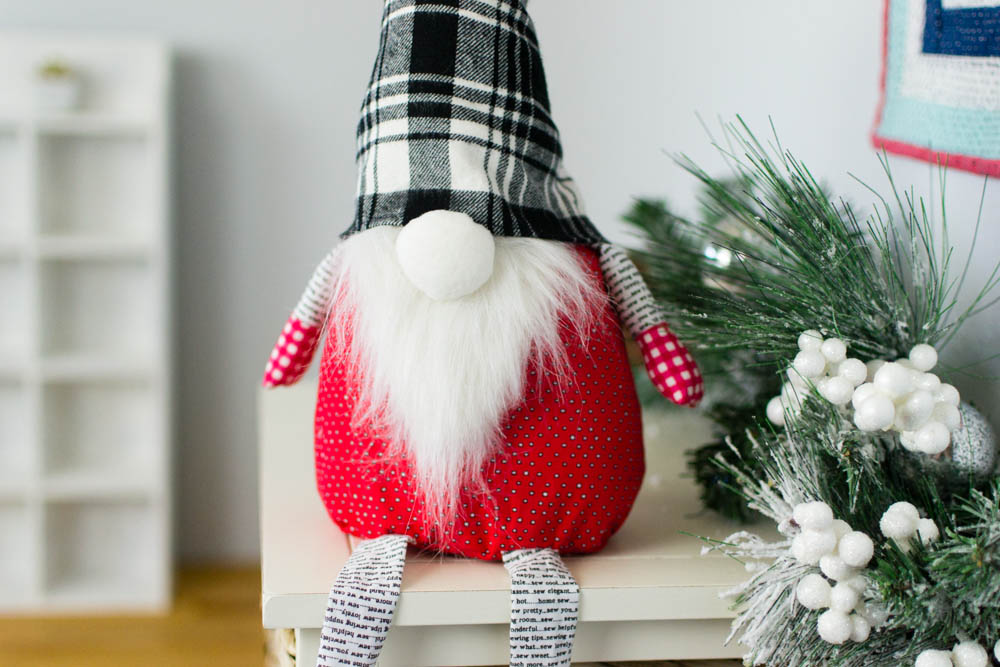 Christmas Gnome Free Sewing Pattern SewCanShe Free Sewing Amazing Free Gnome Patterns