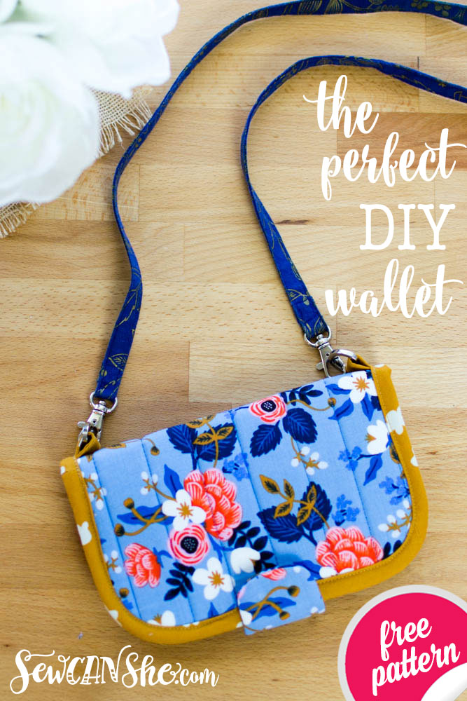 d9211818b9e8 The Perfect DIY Wallet - Free Sewing Pattern! — SewCanShe