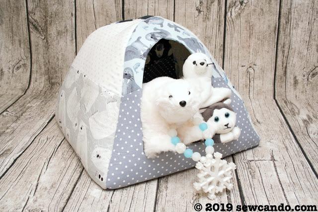 Sew Can Do Pet House Igloo Animals.jpg