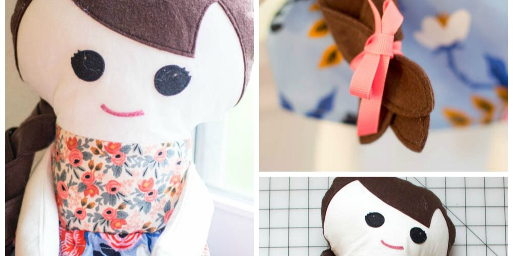 picture about Printable Rag Doll Patterns titled Cute No cost Cloth Doll Habit - Satisfy Katy! SewCanShe