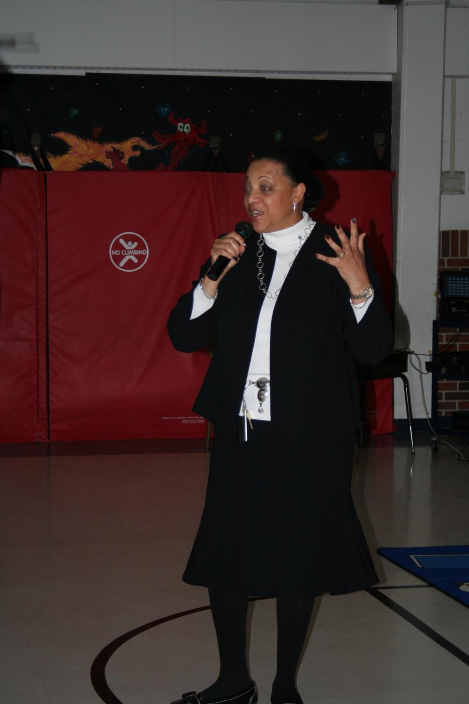 Principal Angela Cordier