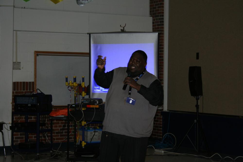 LINC site coordinator Adrian Wilson