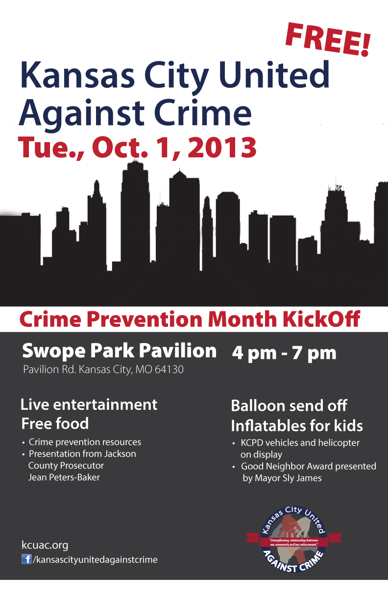 Kansas City United Against Crime - Crime Prevention Month KickOff event.