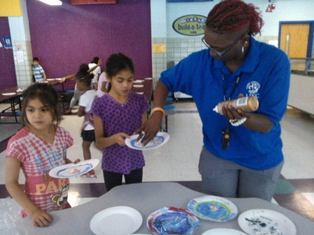 Wheatley Elementary students create original crafts during LINC Summer School
