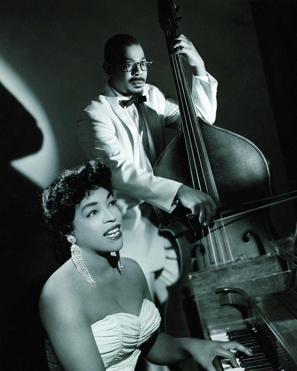 Bettye Miller & Milt Abel