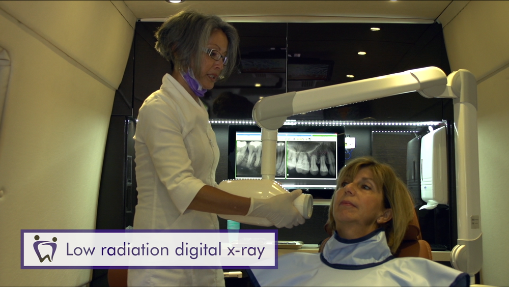 Low radiation digital x-ray