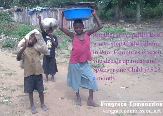 The Only way to help is to sponsor one child a month