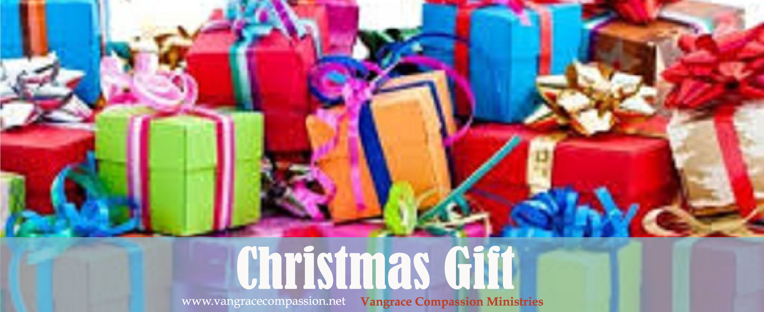 Christmas Gift Catalog. — Vangrace Compassion Ministries