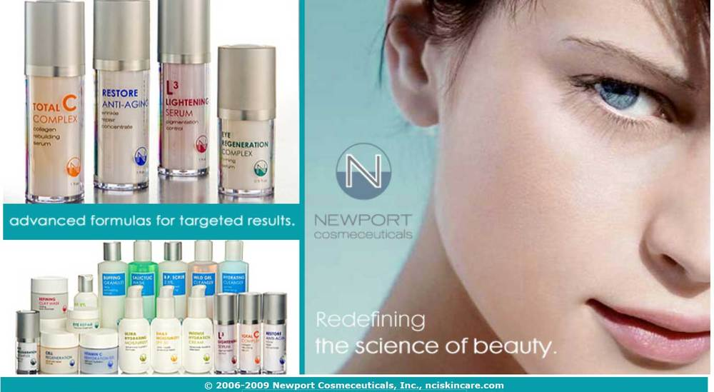 Image of Newport Cosmeceuticals at Suttons Bay Skin Care Center.