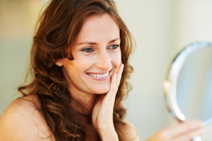 Laser facial treatment at Suttons Bay Skin Care Center helps improve sun damaged skin.