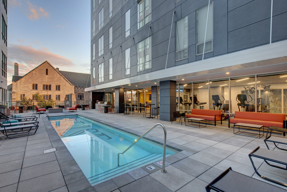 RES_RISE ON 9TH EXTERIOR COURTYARD_POOL DUSK.jpg