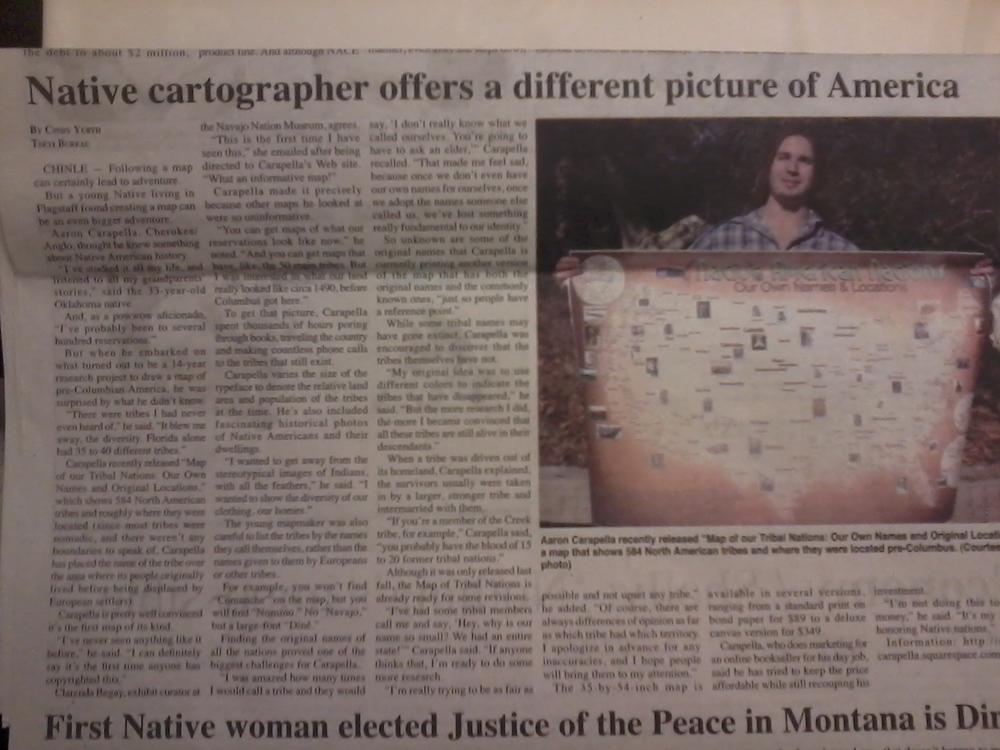 Navajo Times Article