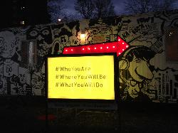 Twitter street art  Montreal-based artist Remi Beaupre