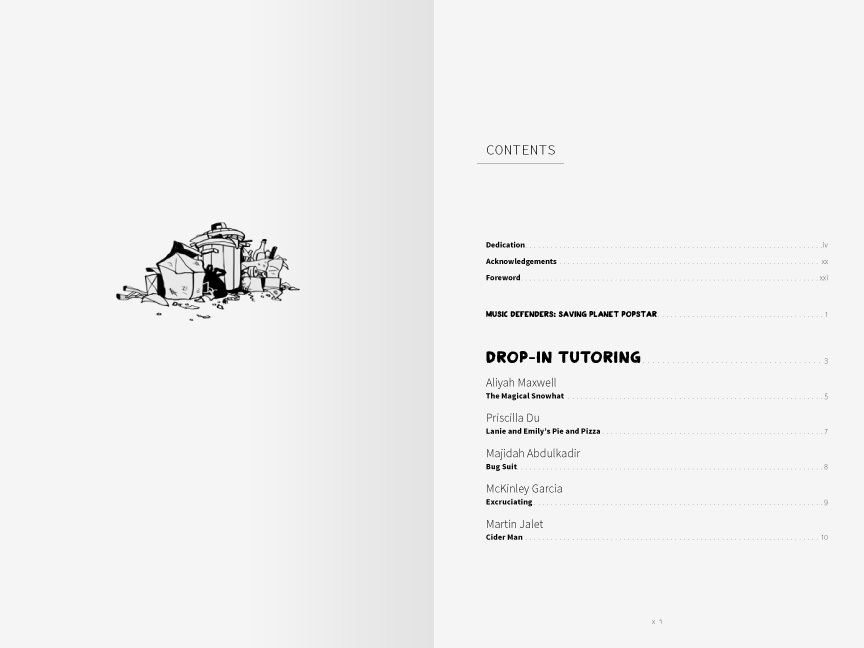 Table of Contents No. 2