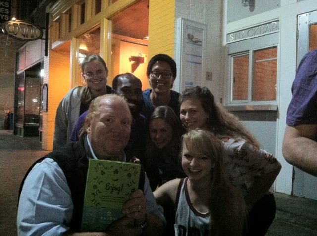 Mario Batali and the 826michigan crew