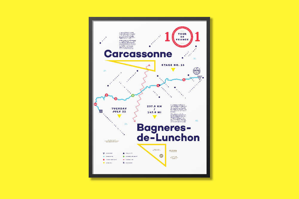 Stage No. 16 — Carcassonne to Bagneres-de-Lunchon