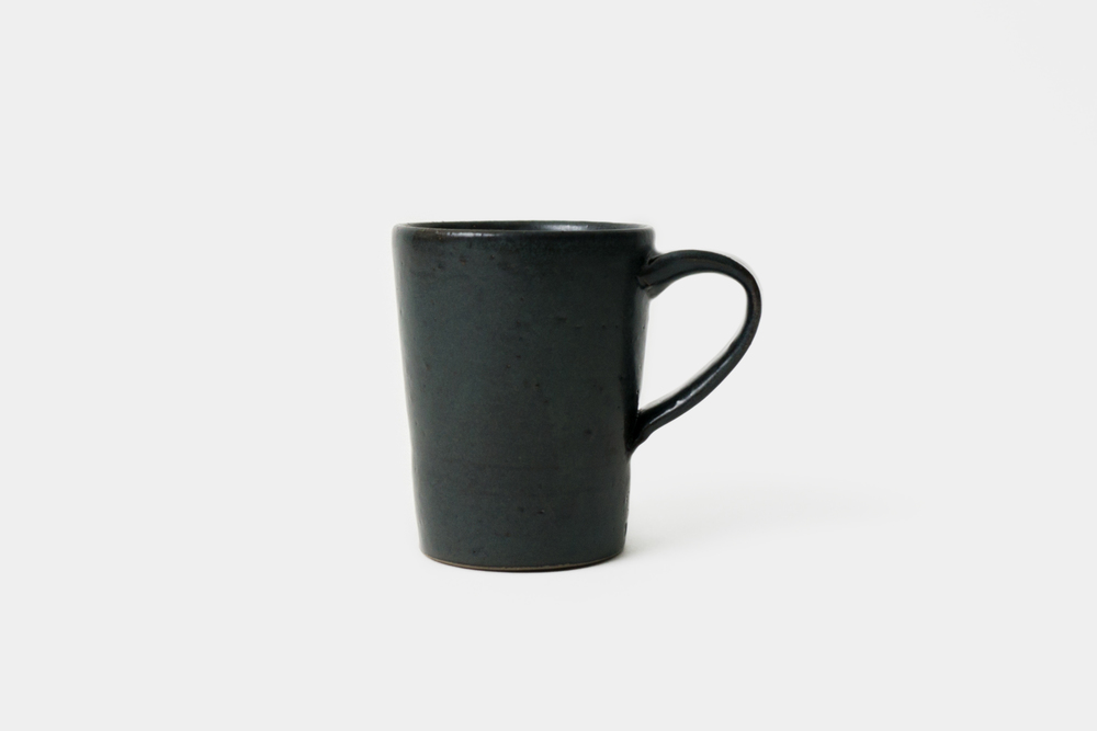 Black Mug - Ceramics project, 2015 (sold)