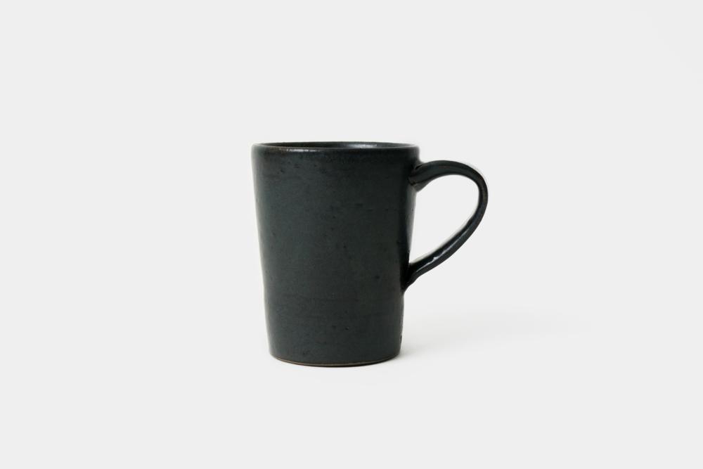 Black Mug - Ceramics project,2015 (sold)