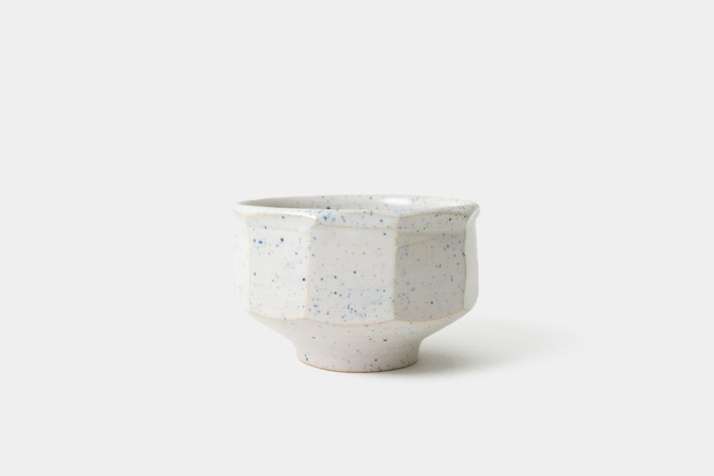 White Stoneware Cup - Stoneware / 2015