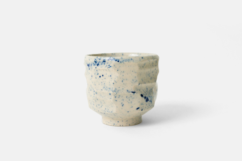White Stoneware Cup / 2015 (sold)