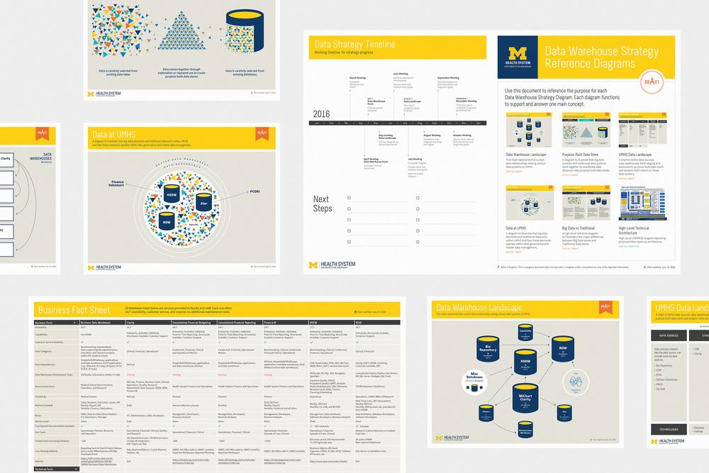 UMHS Data Diagrams - Infographics,2015–2017