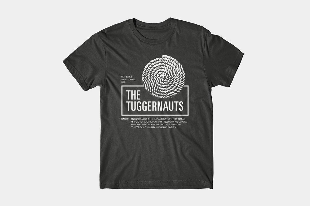 The Tuggernauts - T-shirt design, 2016