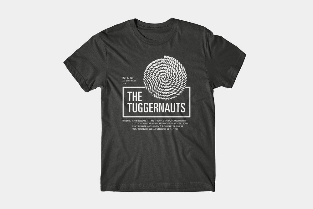 The Tuggernauts - T-shirt design,2016