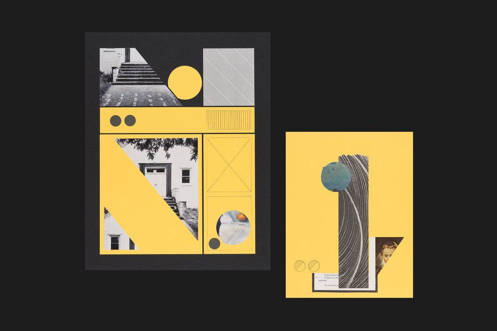 Composition Studies - Collage, 2017