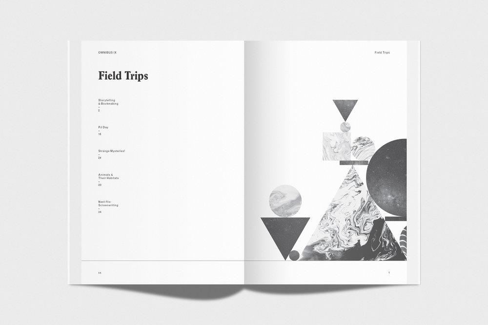 OMNIBUS IX - Book design, 2017