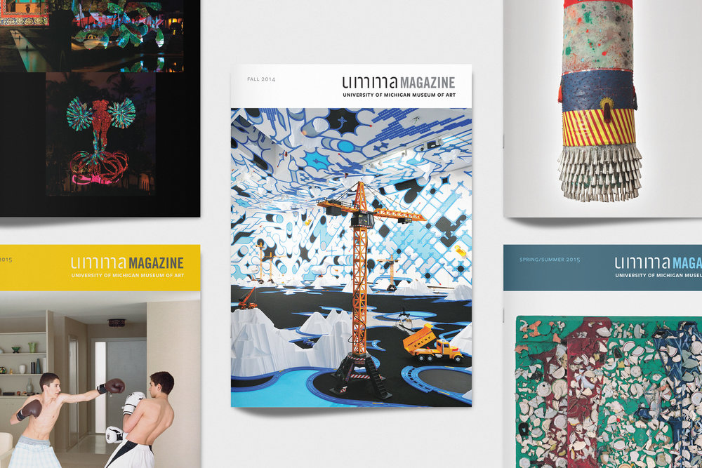 UMMA Magazine - Publication Design / 2013–2015