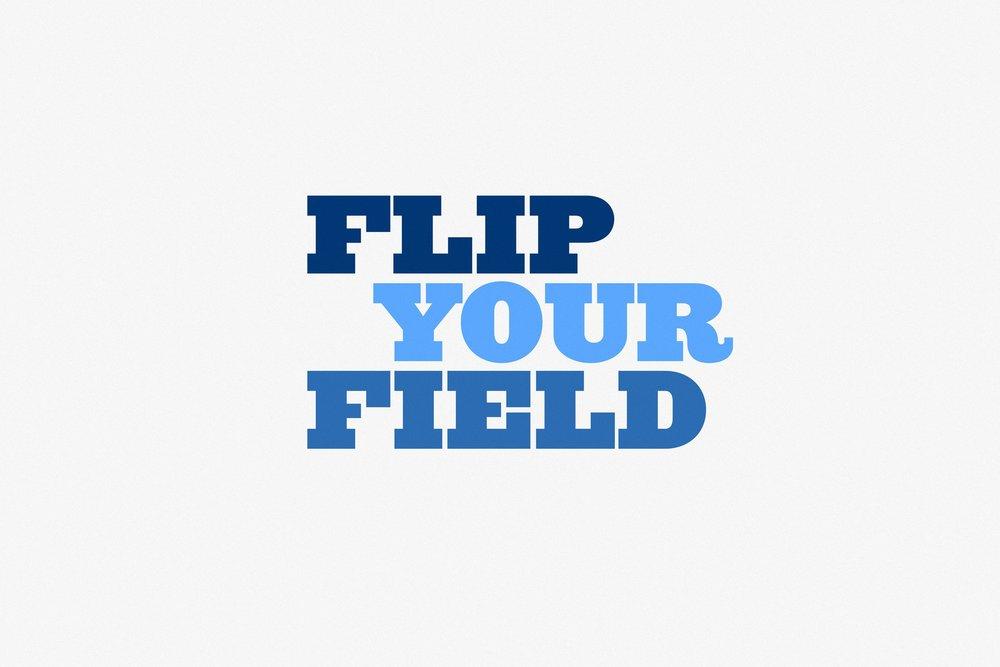 Flip Your Field - Exhibition Graphics / 2013
