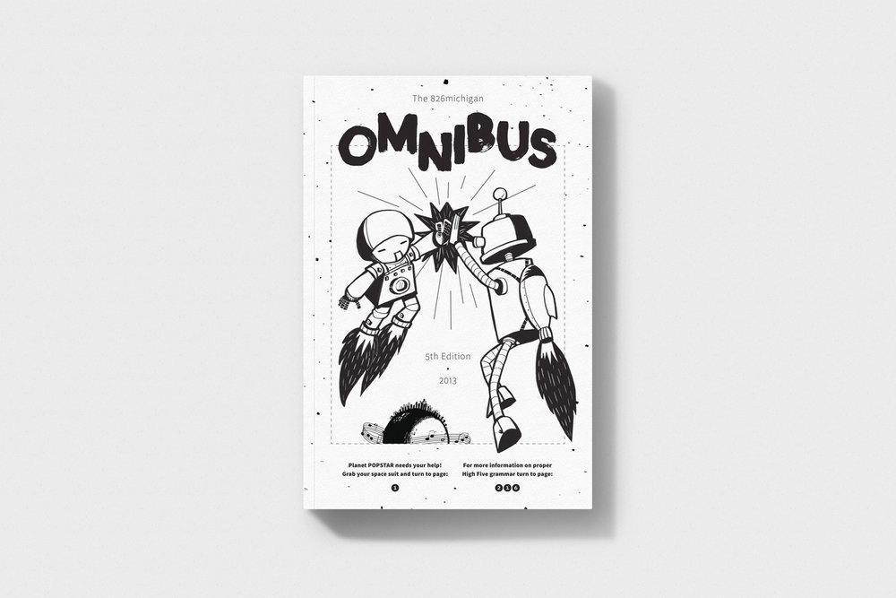 826michigan OMNIBUS V - Book Design / 2013