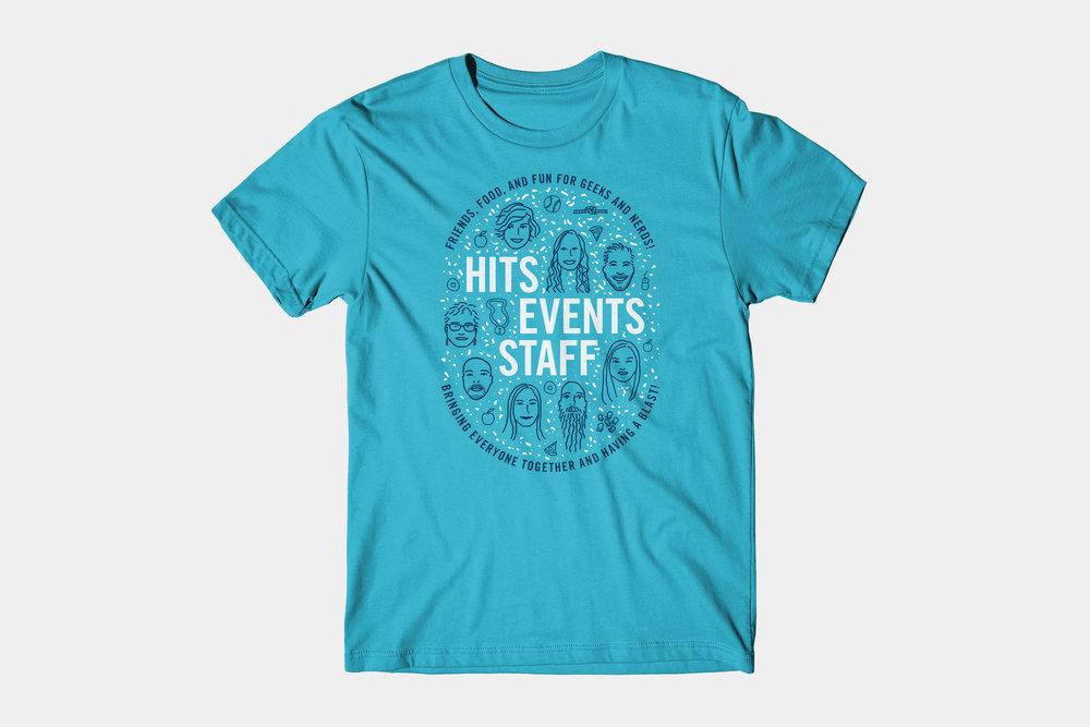 HITS Events Staff T-shirt - T-shirt / 2017