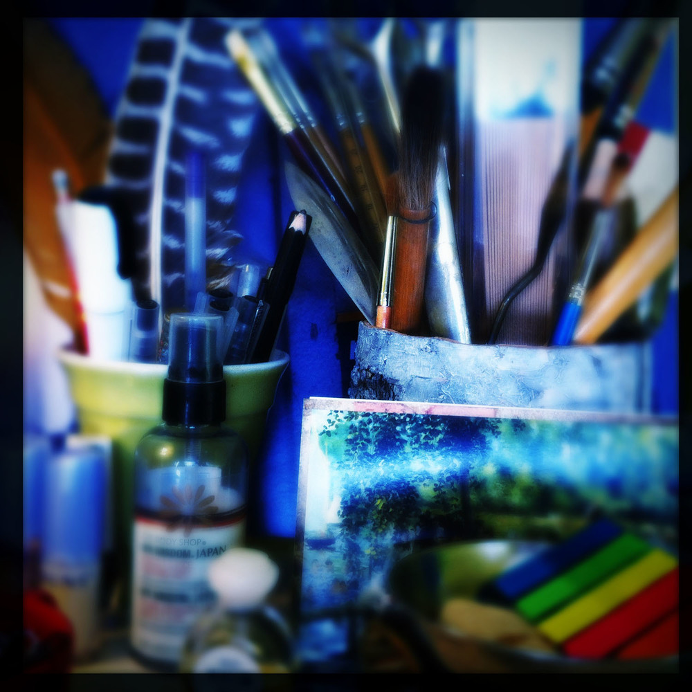 iPhone photo: my studio space